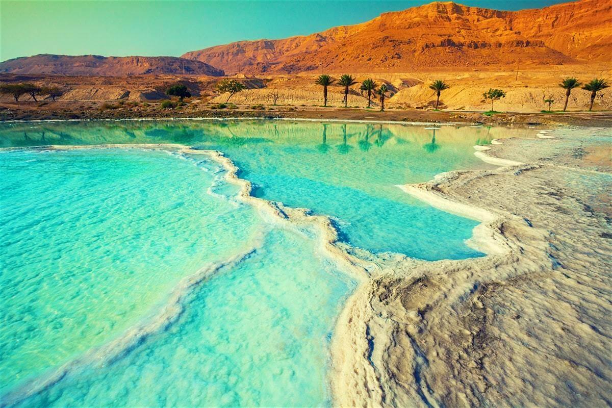 Какие минералы содержит Мертвое море